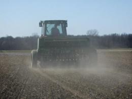 A drill provides good seed-soil contact for forages