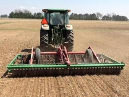 A cultimulcher preparing a good seedbed